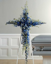 Delphinium Cross from Bolin-Reeves, your Birmingham, AL florist